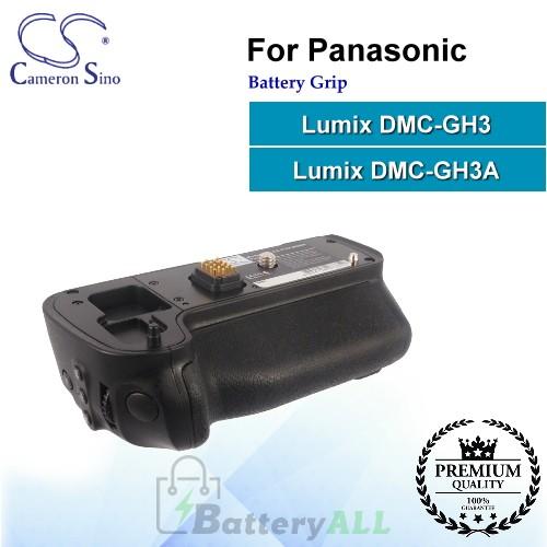 CS-PGH300BN For Panasonic Battery Grip DMW-BGGH3