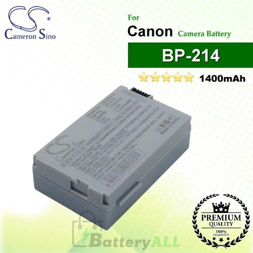 CS-BP214 For Canon Camera Battery Model BP-214