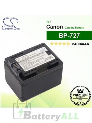 CS-BP727MC For Canon Camera Battery Model BP-727