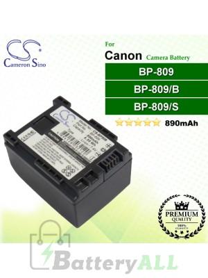 CS-BP809 For Canon Camera Battery Model BP-809 / BP-809/B / BP-809/S