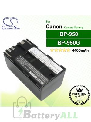CS-BP950 For Canon Camera Battery Model BP-950 / BP-950G