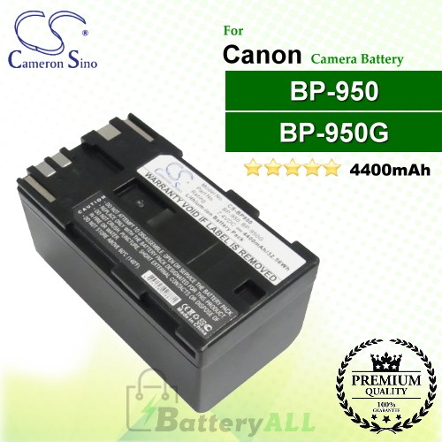 CS-BP950 For Canon Camera Battery Model BP-950 / BP-950G