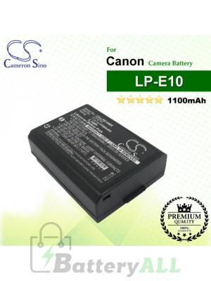 CS-LPE10MX For Canon Camera Battery Model LP-E10