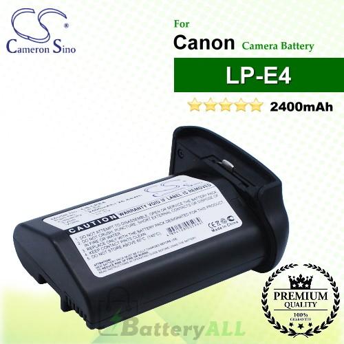 CS-LPE4 For Canon Camera Battery Model LP-E4 / LP-E4N