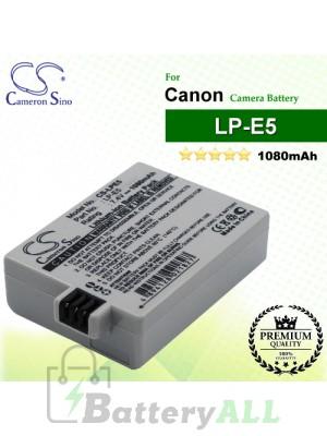 CS-LPE5 For Canon Camera Battery Model LP-E5