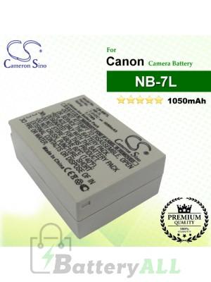CS-NB7L For Canon Camera Battery Model NB-7L