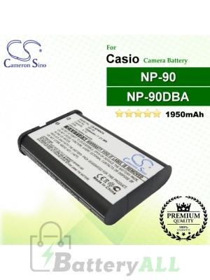 CS-NP90CA For Casio Camera Battery Model NP-90 / NP-90DBA