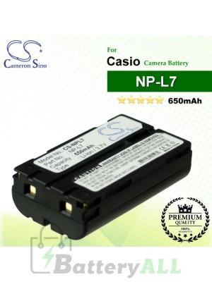 CS-NPL7 For Casio Camera Battery Model NP-L7
