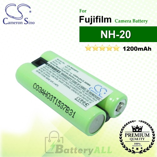 CS-NH20FU For Fujifilm Camera Battery Model NH-20