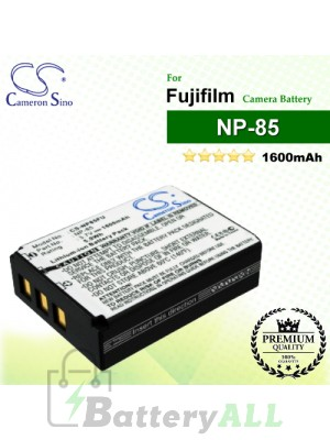 CS-NP85FU For Fujifilm Camera Battery Model NP-85