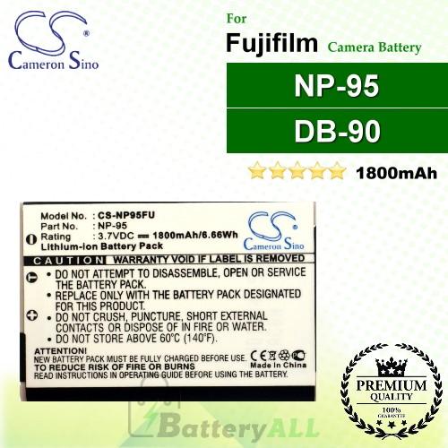CS-NP95FU For Fujifilm Camera Battery Model NP-95