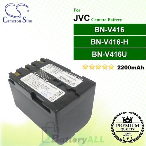 CS-JBV416 For JVC Camera Battery Model BN-V416 / BN-V416-H / BN-V416U