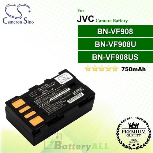 CS-JVF908U For JVC Camera Battery Model BN-VF908 / BN-VF908U / BN-VF908US