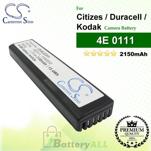 CS-KLIC011 For Kodak Camera Battery Model 11040510 / 4E 0111 / 4E0111