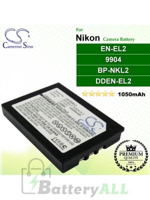 CS-ENEL2 For Nikon Camera Battery Model 9904 / BP-NKL2 / DDEN-EL2 / EN-EL2