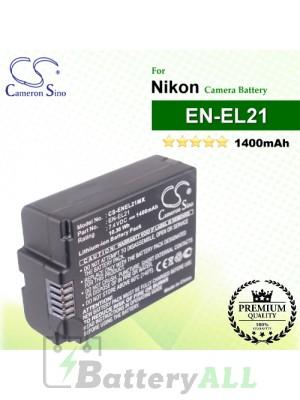 CS-ENEL21MX For Nikon Camera Battery Model EN-EL21