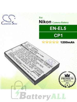 CS-ENEL5 For Nikon Camera Battery Model CP1 / EN-EL5