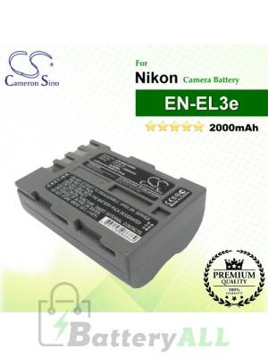 CS-NKD100MX For Nikon Camera Battery Model EN-EL3e