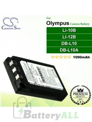 CS-LI10B For Olympus Camera Battery Model Li-10B / LI-12B