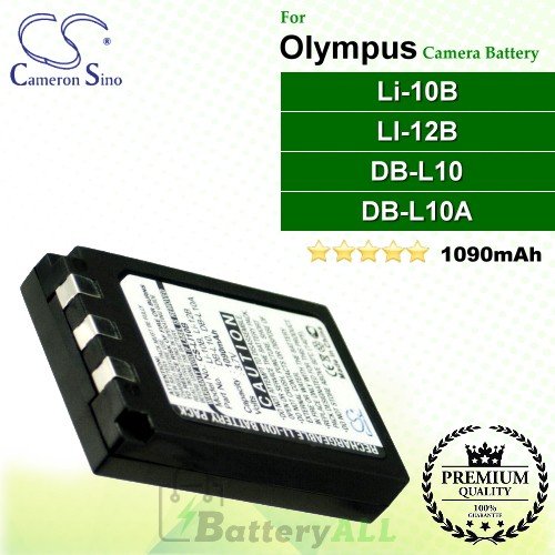 CS-LI10B For Olympus Camera Battery Model Li-10B / LI-12B