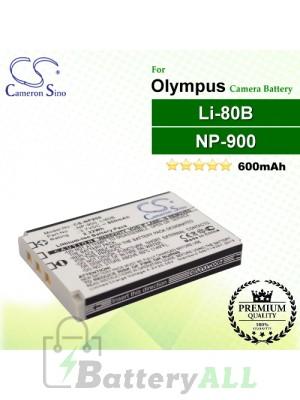 CS-NP900 For Olympus Camera Battery Model Li-80B