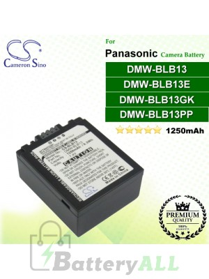 CS-BLB13 For Panasonic Camera Battery Model DMW-BLB13 / DMW-BLB13E / DMW-BLB13GK / DMW-BLB13PP