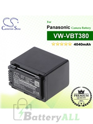 CS-HCV310MH For Panasonic Camera Battery Model VW-VBT380