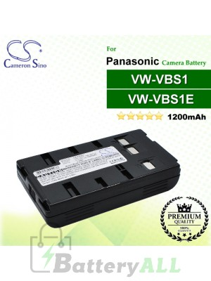 CS-PDVS1 For Panasonic Camera Battery Model VW-VBS1 / VW-VBS1E