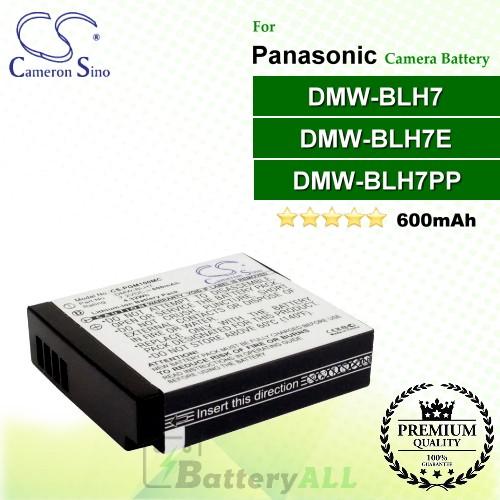 CS-PGM100MC For Panasonic Camera Battery Model DMW-BLH7 / DMW-BLH7E / DMW-BLH7PP