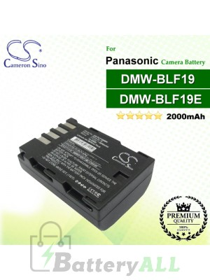 CS-PLF190MH For Panasonic Camera Battery Model DMW-BLF19 / DMW-BLF19E / DMW-BLF19PP