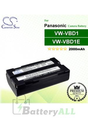 CS-SVBD1 For Panasonic Camera Battery Model AG-BP15P / CGR-B/202 / CGR-B/202A1B / CGR-B/202E1B / CGR-B/403 / CGR-B/814 / CGR-B202A / PV-DBP5 / VW-B202 / VW-VBD1 / VW-VBD1E / VW-VBD2 / VW-VBD2E
