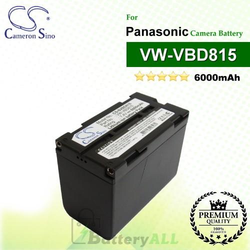 CS-SVBD815 For Panasonic Camera Battery Model VW-VBD815