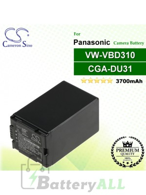 CS-VBD310 For Panasonic Camera Battery Model CGA-DU31 / VW-VBD310