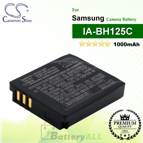 CS-BH125C For Samsung Camera Battery Model IA-BH125C