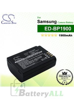 CS-BP1900MX For Samsung Camera Battery Model ED-BP1900