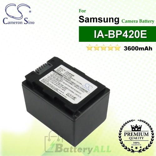 CS-BP420E For Samsung Camera Battery Model IA-BP420E
