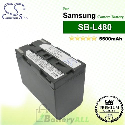 CS-SBL480 For Samsung Camera Battery Model SB-L480