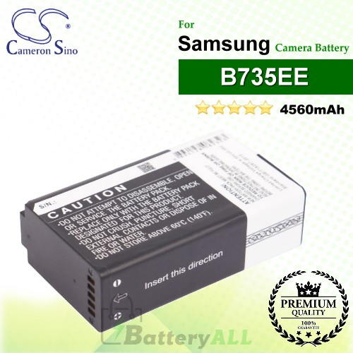 CS-SGN100MX For Samsung Camera Battery Model B735EE
