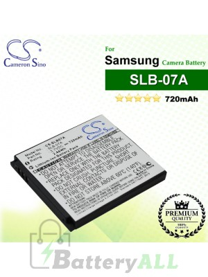 CS-SLB07A For Samsung Camera Battery Model SLB-07A