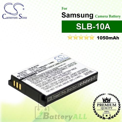 CS-SLB10A For Samsung Camera Battery Model SLB-10A