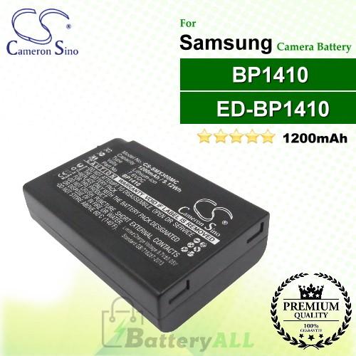 CS-SMX300MC For Samsung Camera Battery Model BP1410 / ED-BP1410