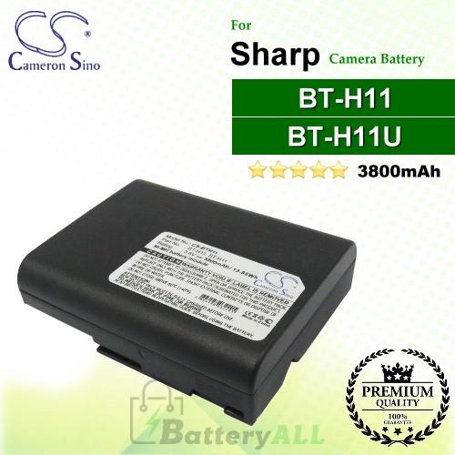 Replacement Battery for Sharp VL-E77U VL-E780 VL-E780H VL-E780S VL-E780U VL-E785U VL-E96E VL-E97E VL-E980E VL-E98E VL-H420 VL-H4200 VL-H4200S VL-H420H VL-H420S