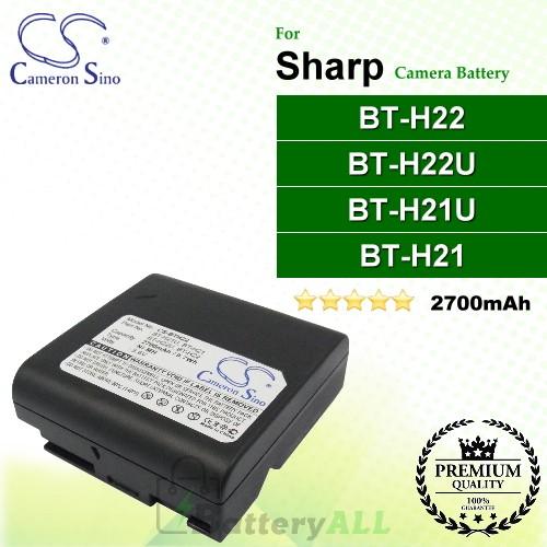 CS-BTH22 For Sharp Camera Battery Model BT-H21 / BT-H21U / BT-H22 / BT-H22U
