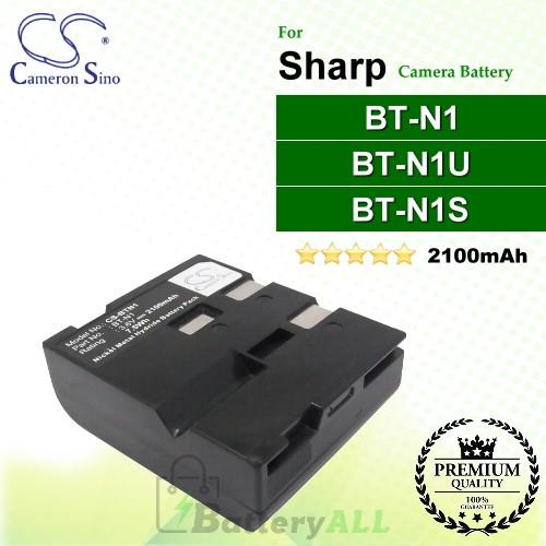 CS-BTN1 For Sharp Camera Battery Model BT-N1 / BT-N1S / BT-N1U