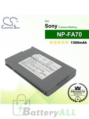 CS-FA70 For Sony Camera Battery Model NP-FA70