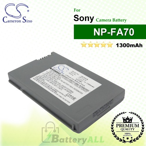 CS-FA70 For Sony Camera Battery Model NP-FA70