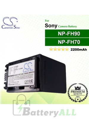 CS-FH90D For Sony Camera Battery Model NP-FH90