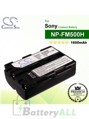 CS-FM500H For Sony Camera Battery Model NP-FM500H