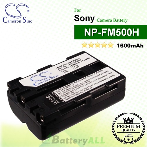 CS-FM500H For Sony Camera Battery Model NP-FM500H