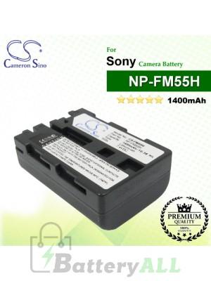 CS-FM55H For Sony Camera Battery Model NP-FM55H